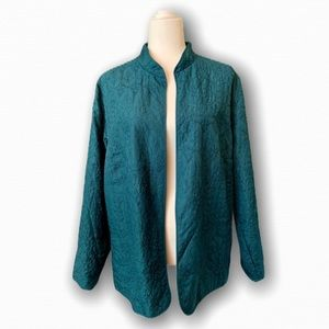 Alfred Dunner Woman Embroidered Jacket/Blazer